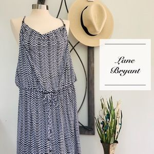 Dresses & Skirts - Lane Bryant Black and White Boho Summer Dress